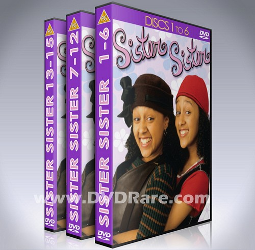 Sister Sister DVD - Every Episode -6 Seasons- Tia & Tamara - TV